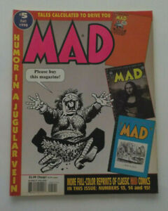 """MAD MAGAZINE FALL 1998  ISSUE # 5 """"TALES CIRCULATED TO DRIVE YOU MAD"""""""