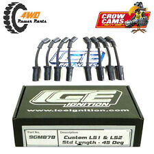 ICE IGNITION 9mm Pro 100 Leads Holden GM Gen III/IV LS1 LS2 45° Plug Ends 9GM878