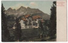 Karerseehotel Mit Dem Rosengarten Austria Vintage Postcard US090