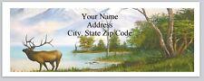 Personalized Address Labels Deer Lake Scene Buy 3 get 1 free (bx 196)