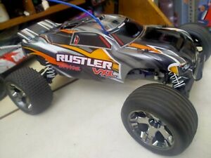 Traxxas Rustler VXL 1/10 Electric 2wd Buggy Velineon Vxl-3s Traxxas TQ Link RTR