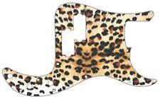 P Bass Precision Pickguard Custom Fender 13 Hole Guitar Pick Guard Cheetah Print