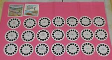 CANADA VIEW-MASTER REELS lot of seven 3-reel sets Vancouver Victoria Maritime ++