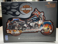 Harley-Davidson Motorcycles ACCELERATE Puzzle 3 Ft Long 1000 Piece (New Sealed)