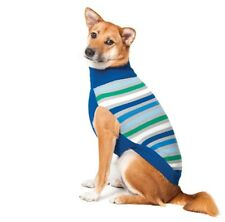 Stripe Turtle Neck Sweater for Dog - M - Keep nice warm in winter weather