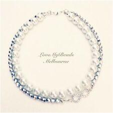 Pearl Glass Statement Fashion Necklaces & Pendants