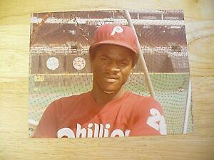 "MLB - Gloss Picture - 8"" x 10"" - Philadelphia Phillies ""Jeff Stone"" - EXCELLENT"