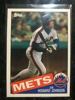1985 Topps Traded Howard Johnson baseball card #64T -  New York Mets     NM-MT