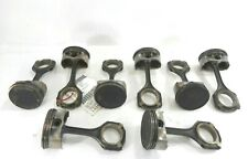 07 Mercedes-Benz S550 5.5L Engine Pistons W/ Connecting Rods Set of 8 OEM
