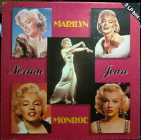 3LP 33 BOX   Marilyn Monroe ‎– Norma Jean EUROPE 1987 SEALED