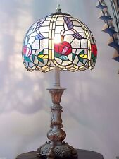 Lamp Night Stand Lamp GLASS LAMP SHADE Tiffany Style