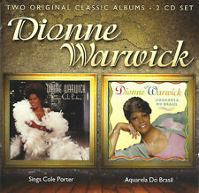 Dionne Warwick – Dionne Warwick Sings Cole Porter / Aquarela Do Brasil  2-cd