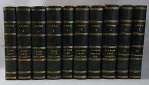 Auguste NICOLAS 10 vol. Etudes CHRISTIANISME Vierge Marie Protestantisme VATON