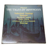 Offenbach Tales of Hoffmann Domingo Sutherland Record LP Box Set London NEW Seal
