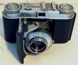 Voiglander Vito II 35mm Film Camera Color-Skopar 3.5/50 Lens Prontor-SVS Shutter