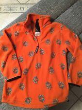 Jack Wolfskin Pullover Fleece Orange Tatzen Gr. 152