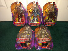 NECA Predator Kenner ALL MISP!  Lava Planet Hive Wars Stalker Spiked Tail Ghost