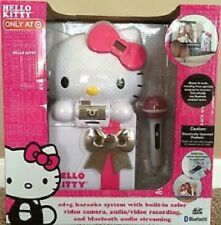 Hello Kitty CD+G Karaoke System w/Built-In Color Camera, Audio/Video Recording