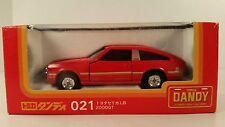 Reduced* Tomica Dandy #021 Red Toyota Celica 2000GT1/43  Doors Hatch & Hood Open
