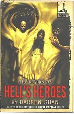 HELL'S HEROES Book #10 THE DEMONATA Darren Shan NEW Hardcover HORROR 1E 1P