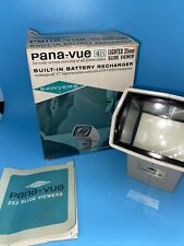 Vintage Sawyers Pana-Vue 4R Lighted 35mm Wide Screen Slide Viewer Slides w/ Box