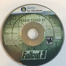 VIDEO GAME DISC ONLY WINDOWS LIVE DVD COMPUTER PC FALLOUT 3 BETHESDA ACCESS KEY