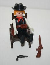 PLAYMOBIL 3341 3241 VINTAGE SHERIF WESTERN ROCKING CHAIR