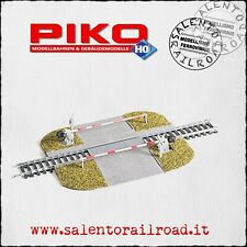PIKO 55725 passaggio a livello ferroviario con barriere - scala 1/87 H0