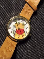 DISNEY WINNIE THE POOH TIMEX WATCH FLOATING BEES SECOND HAND QUARTZ NEW BATTERY