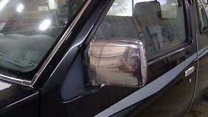 86-97 Nissan Pickup D21 Hardbody Driver Manual Door Mirror Chrome (Light Scuff)