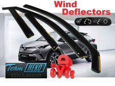 TOYOTA C-HR  2016 -  5.doors  Wind deflectors 4.pc set HEKO 29645