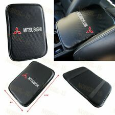 For Mitsubishi Embroidery Carbon Center Console Armrest Cushion Mat Pad Cover (Fits: Mitsubishi)