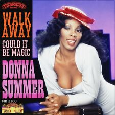 """7"""" DONNA SUMMER Walk Away / Could It Be Magic BARRY MANILOW CASABLANCA USA 1979"""