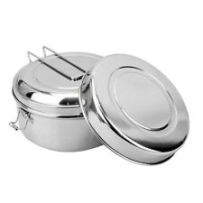 Large Lunch Box Food Stainless Steel Storage Containers Keep Warm Canteen