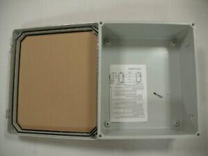 "Vynckier CVJ1412HWPL2 Polycarbonate Enclosure 15.33""X13.31""x6.6"" Clear Front"