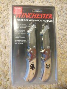 WINCHESTER POCKET KNIFE. Two Piece Knife Set. BRAND NEW
