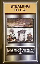 Mark I Video -STEAMING TO L.A. - UP 8444 and SP 4999 at LAUPT 50th Anniversary