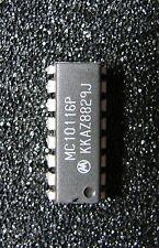 LOT DE 2  x MC10116P TRIPLE LINE RECEIVER DIP16