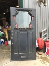 D 51 Antique Victorian Entrance Door 40 And Three-Quarter Inch By 81 1/2 Inch