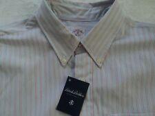 Brooks Brothers Shirt, Blue Stripe, XL, Slim Fit, long sleeve, $225, NWT