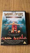 ORIGINAL R2 DVD -SHAOLIN, THE WHEEL OF LIFE- MINT CONDITION