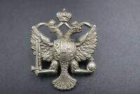 Vintage British Army Queens 1st Dragoons Guards collar Badge #197