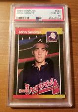 1989 Donruss John Smoltz Rookie #642 PSA 10 Atlanta Braves