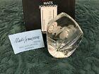 Mats Jonasson  Zinga Flower 33676 3676 Made In Sweden Crystal  Paperweight