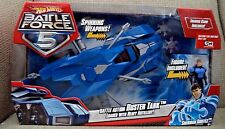 HOT WHEELS BATTLE FORCE 5 BATTLE ACTION BUSTER TANK W/ HEAVY ARTILLERY *NEW*