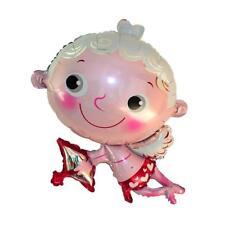 Novedad, Cupido, con, arco, hoja, globo, día de san valentín, compromiso,