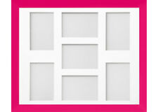 Frame Company Candy Pink Multi Aperture Collage Picture Photo frame & Mount