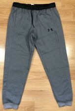 UNDER ARMOUR Pants Mens Suze XL Cold Gear Fitted Gray With Pockets NEW!!