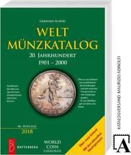 Battenberg Schön Weltmünzkatalog 20.Jh. 1900-2000 46.A. 2018 Münzen Katalog