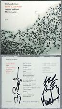 Stefano BOLLANI, Jesper BODILSEN, Morten LUND Signiert STONE IN THE WATER ECM CD
